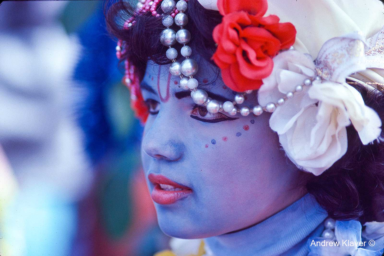 Krishna girl, 1983