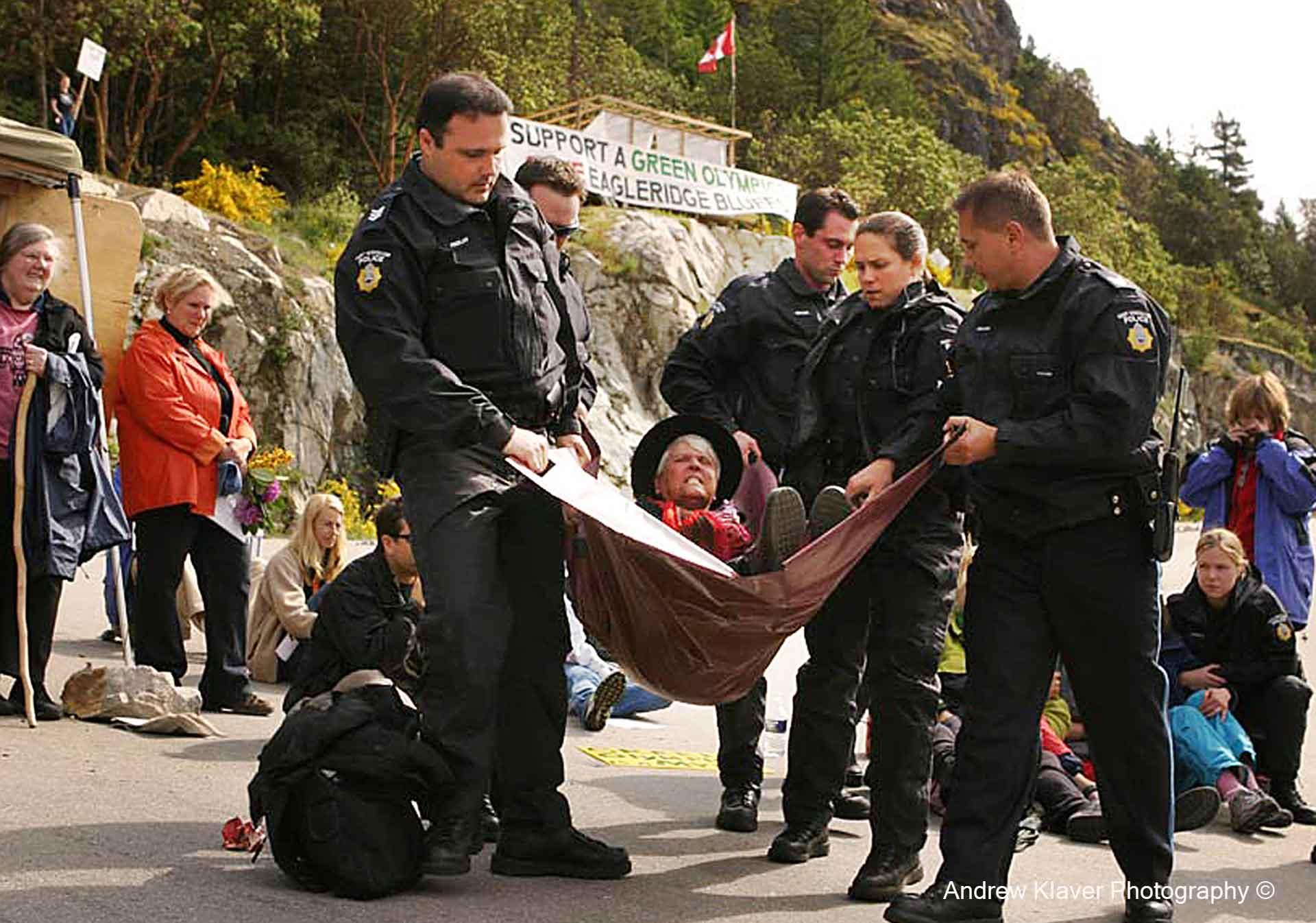 Betty Krawczyk arrested