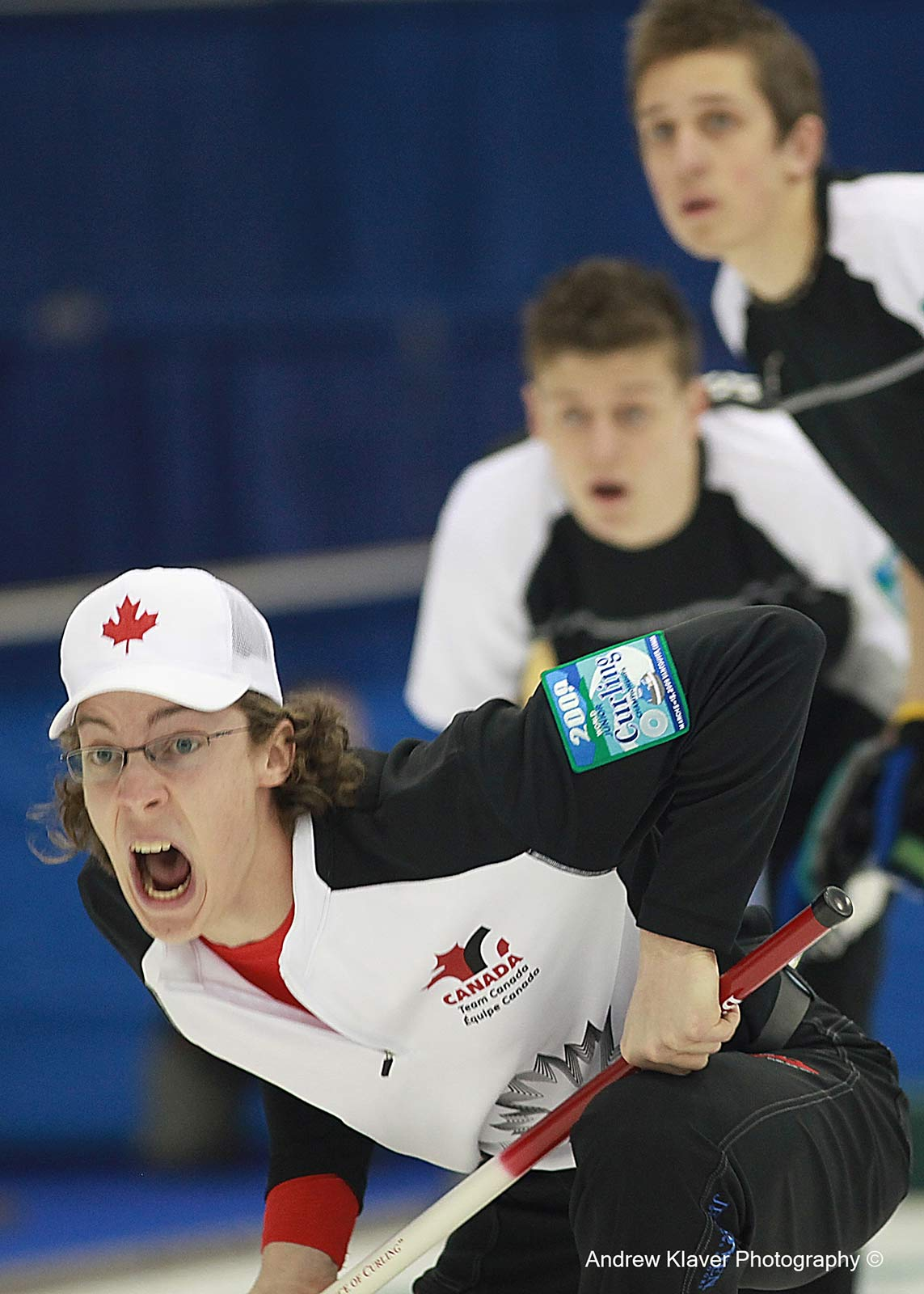 Team Canada skip Brett Gallant