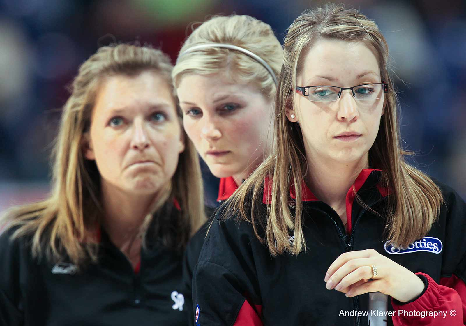 Team Ontario skip Krista McCarville…