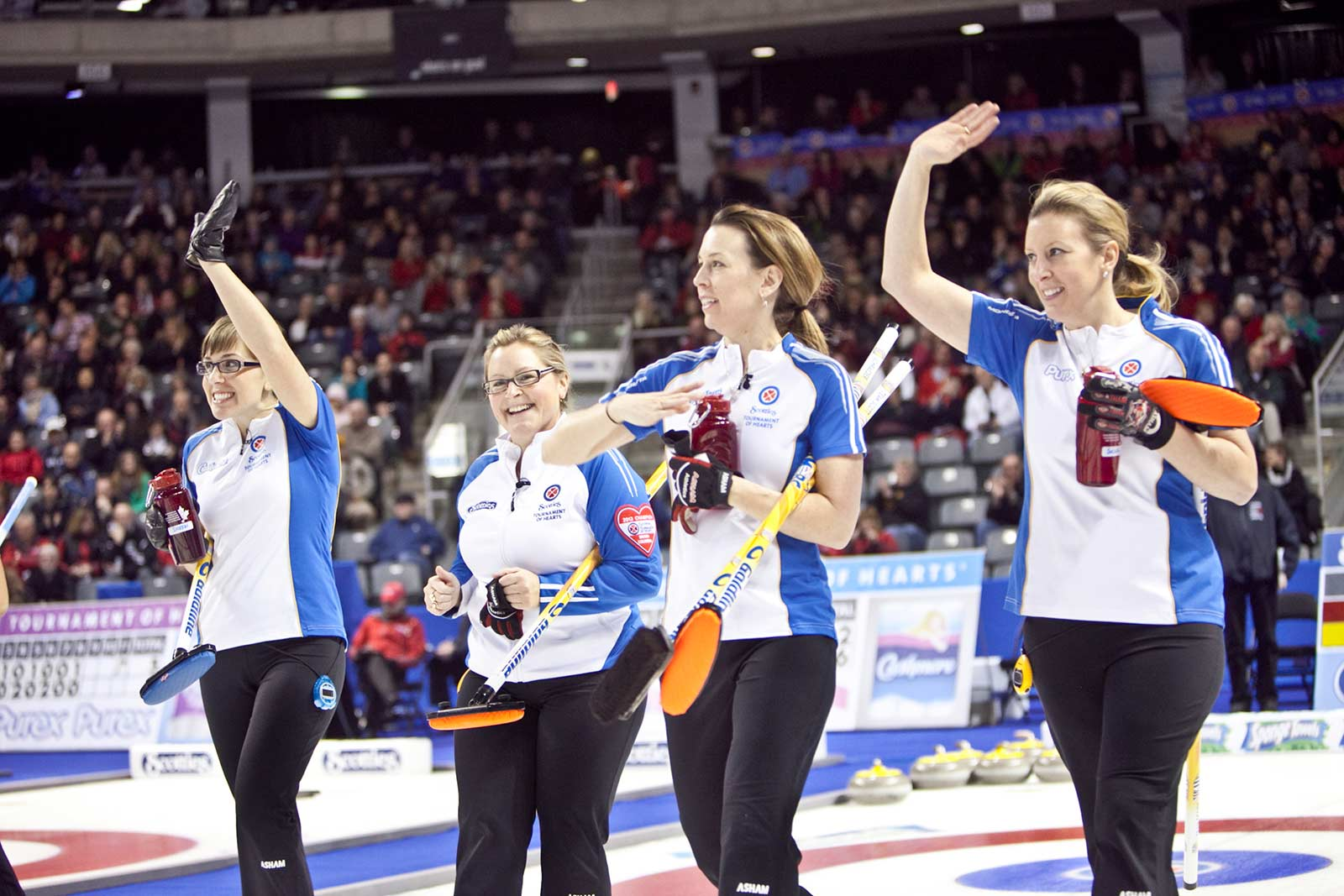 Team Scott's final game at the 2013 Scotties Tournament of Hearts