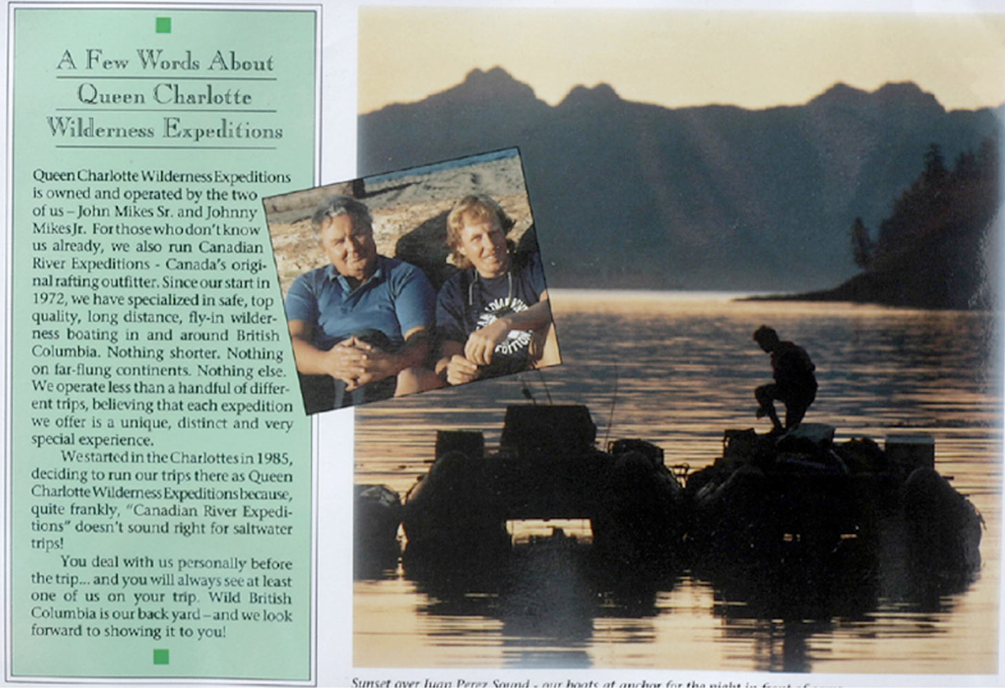 Canadian River Expeditions Brochure